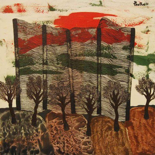 Partha Pratim Deb | Landscape 30 x 30 inches