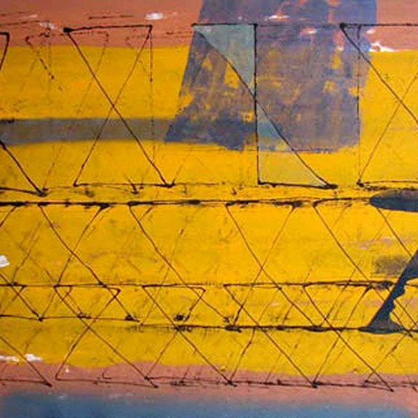 S. Harsha Vardhan   |  Abstract  |  Mixed Media on Paper  |   48x30 inches  |  2007