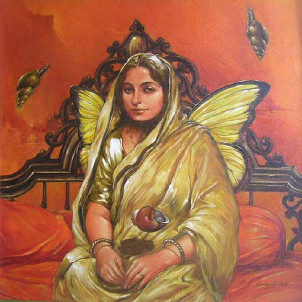 sukd005sukanta-das-angel-oil-acrylic-on-canvas-30-x-30-inches-min