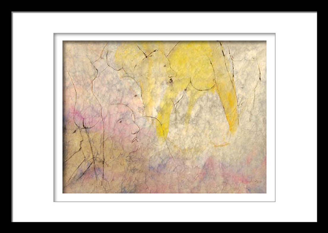 Kartick Chandra Pyne | Watercolour on Rice Paper, 29×18 inches INR 75,000/-