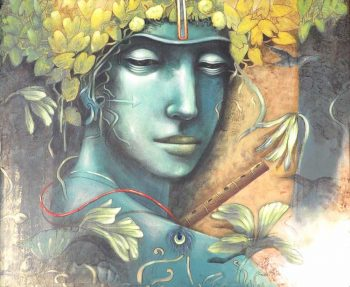 Saikat Patra Acrylic on Canvas 30×36 inches