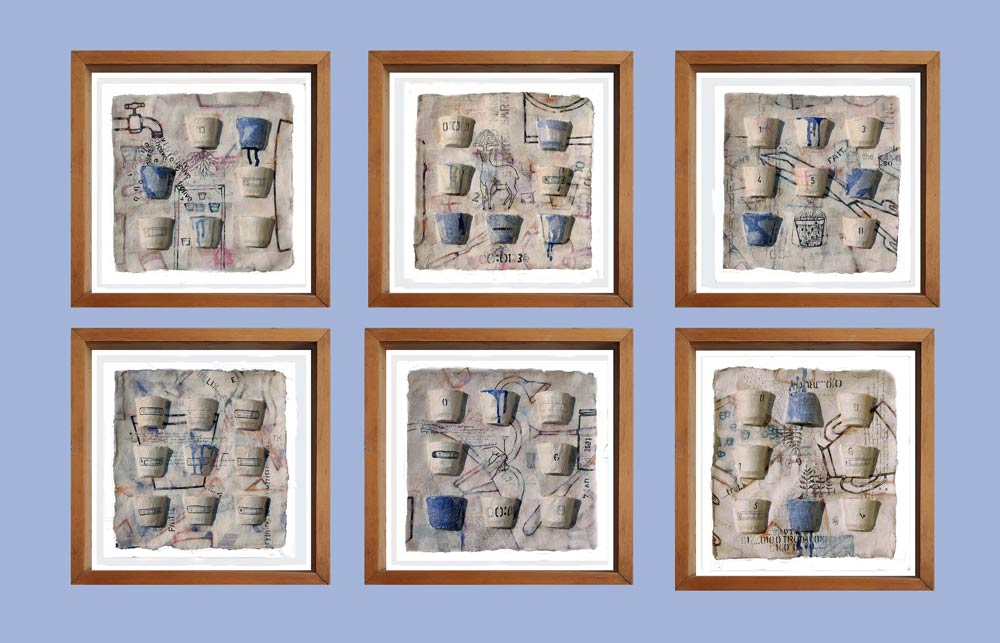 believe-faith-truth-etc-six-panels-ink-earth-water-colour-in-casted-rice-paper-12×12-inches-2017-each