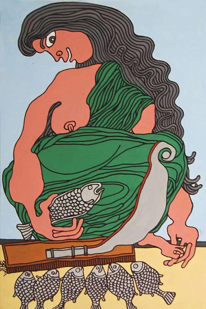 pkr048prakash-karmakar-fish-seller-20-x-30-inches-acrylci-on-canvas-min-e1578312825238