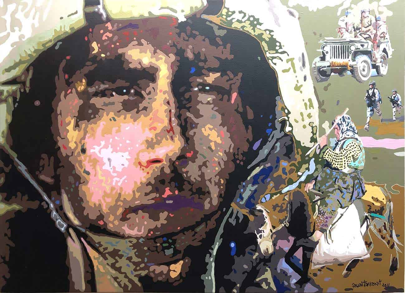 soldier-acrylic-on-canvas-36×48-inches-2011-min