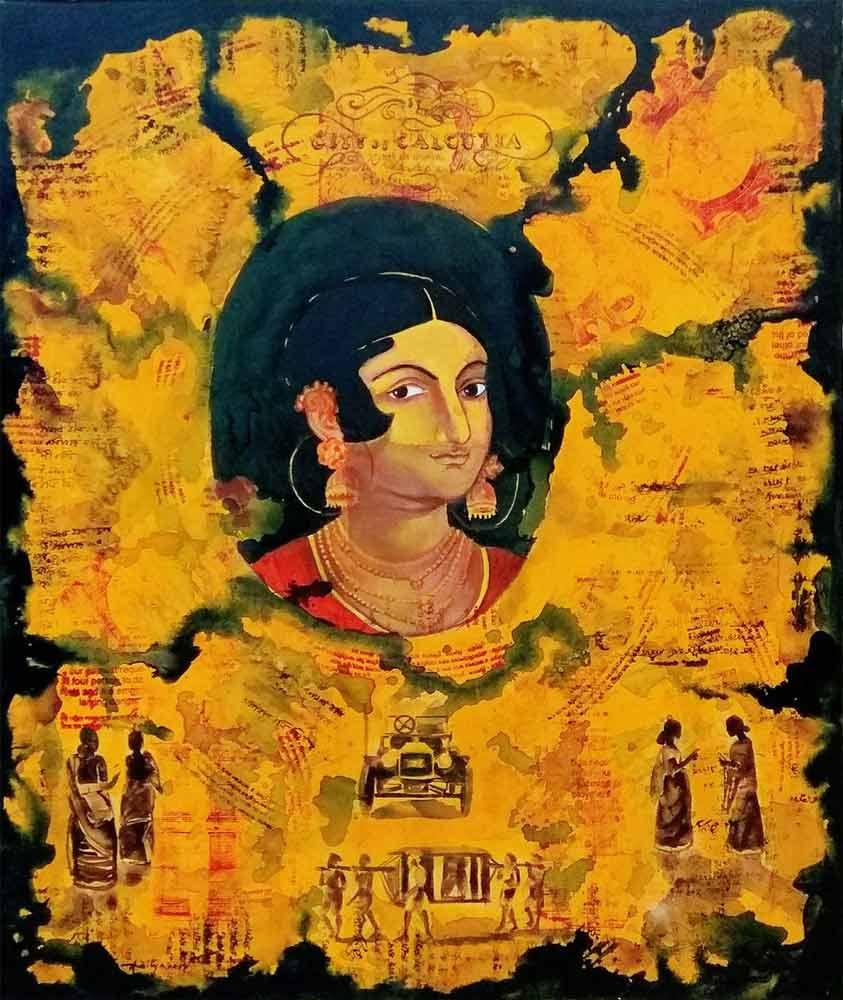 aditya-basak-untitled-acrylic-tempera-on-canvas-36×30-inches-2017