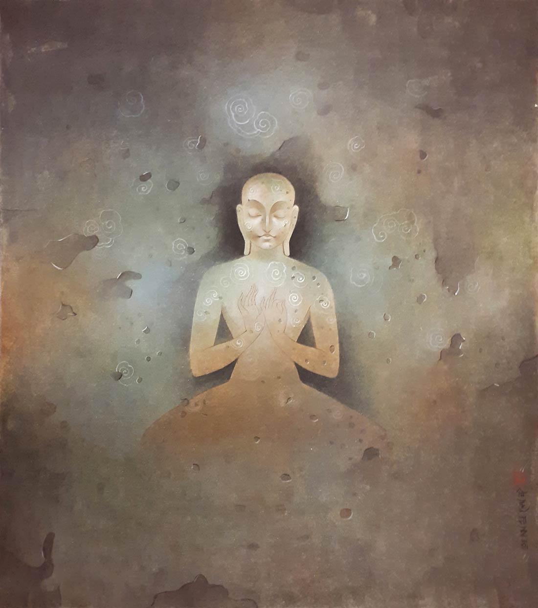 mintu-naiya-untitled-wash-on-board-12×13.5-inches-min