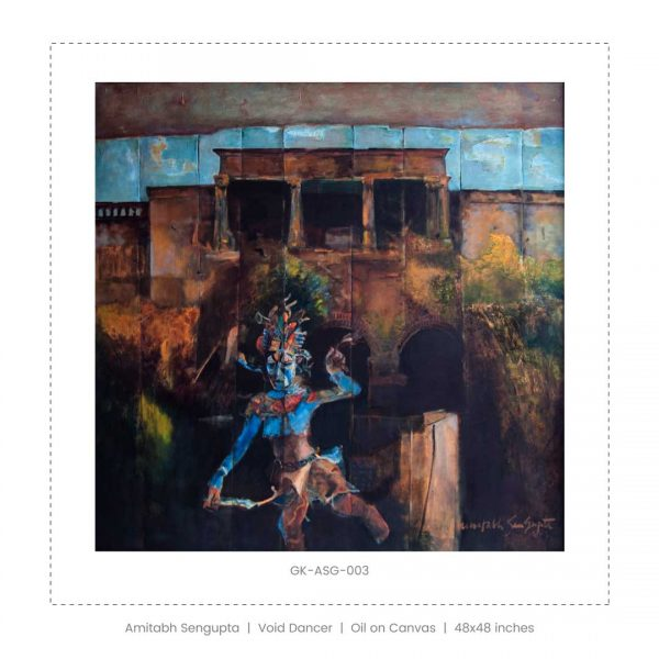 Amitabh Sengupta | 48 x 48 inches | Oil on Canvas