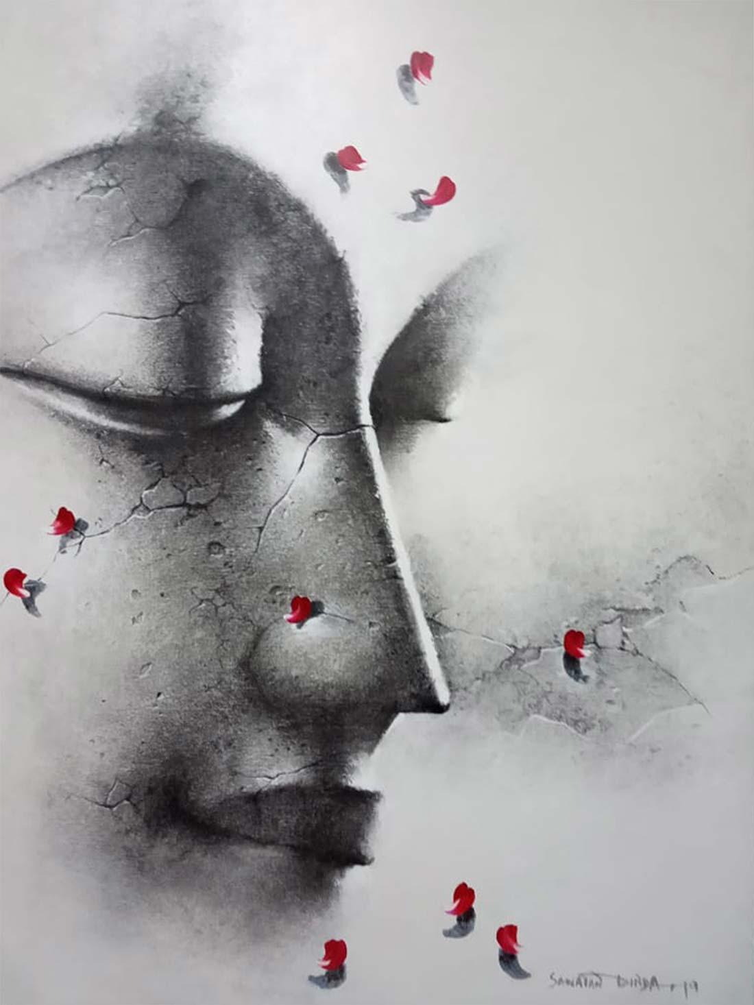 santan-dinda-acrylic-on-canvas-30×40-min