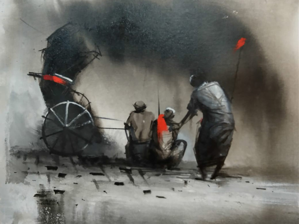dilip-chowdhury-acrylic-on-canvas-12×16-inches-1