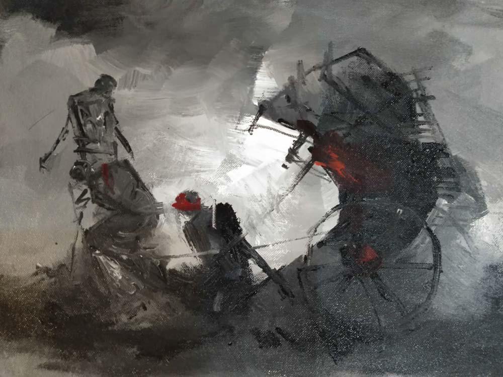 dilip-chowdhury-acrylic-on-canvas-12×16-inches-3