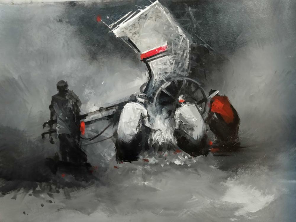 dilip-chowdhury-acrylic-on-canvas-12×16-inches-4