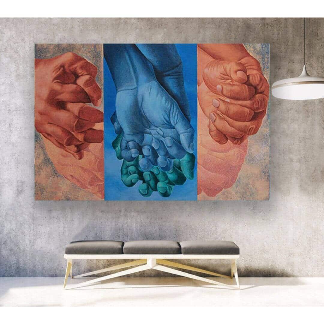 LB 002 Kamal Mitra | 36 x 48 inches | Acrylic on Canvas
