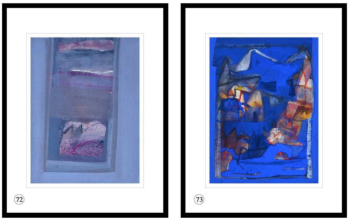 Tapas Ghosal Watercolour, Gouache Powder Pigment on Arches Paper 9×12 inches 2014