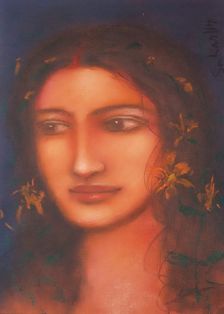 suhas-roy-radha-16×12-inches-2014-2