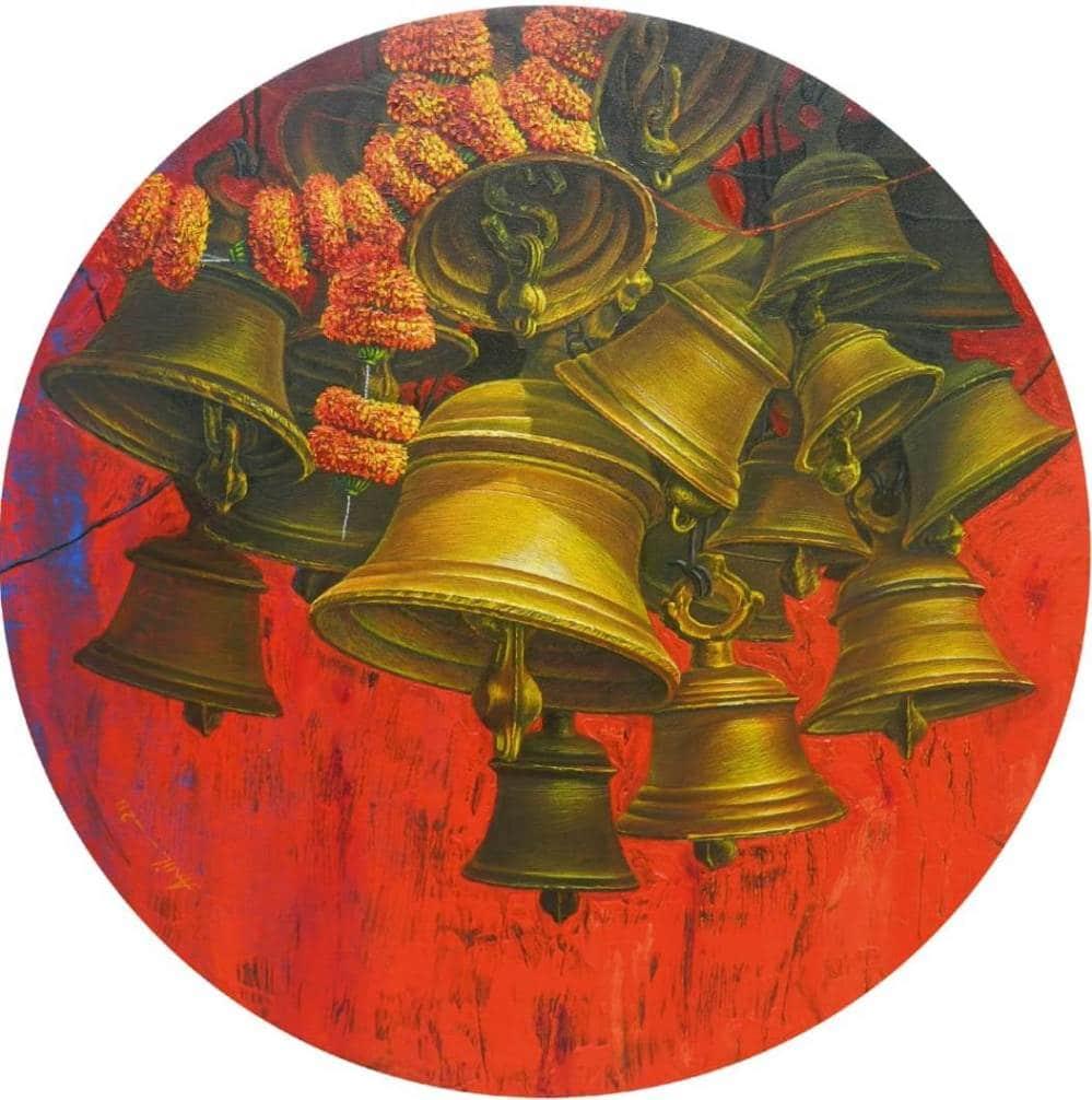 anil-kumar-yadav-aradhana-27-acrylic-on-canvas-30×30-inches-min
