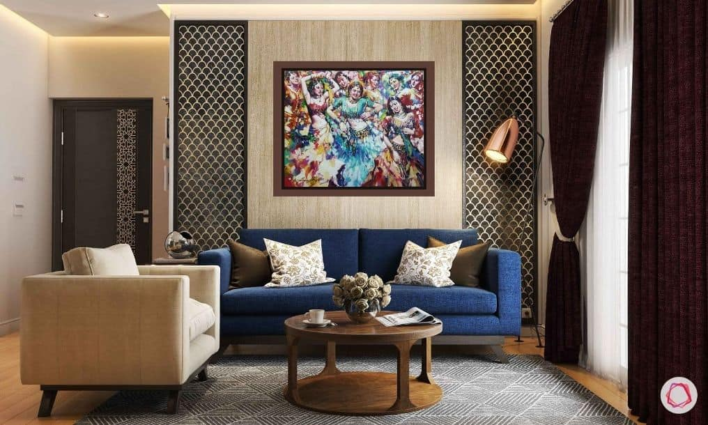 Subrata Gangopadhyay, Dandia Raas, Acrylic on Canvas, 30x36 inches, 2020