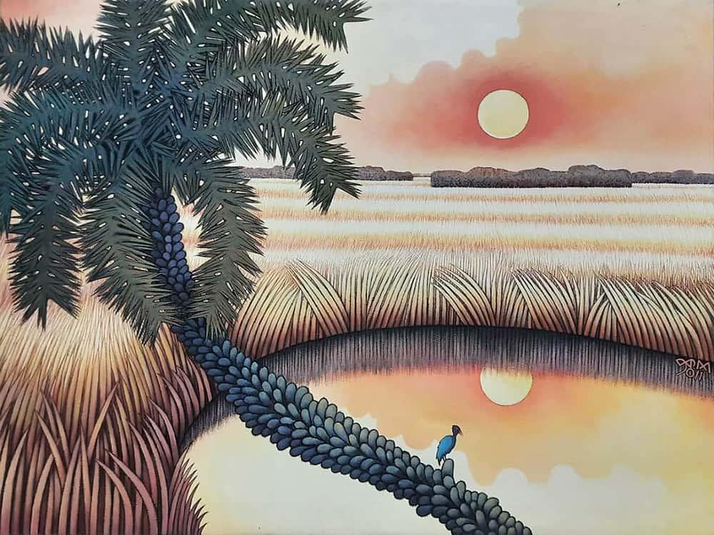 Prokash Karmakar Acrylic on Canvas 30×40 inches 2011