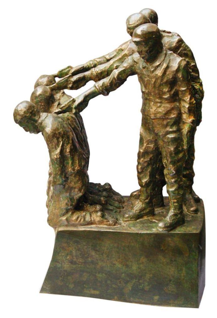 Tapas Biswas Abandon Bronze 23.50×12.50×8.50 inches
