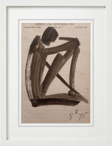 Somnath Hore | Sketch on Paper | 5x7 inches | 1994 | 39000/-