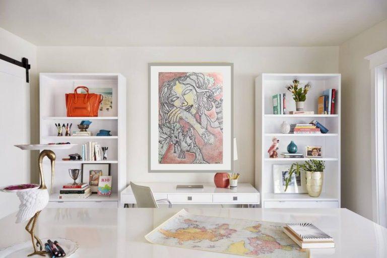 GK JD 002 Jahar Dasgupta   Acrylic on Paper   22 x 30 inches Price 75000/- NOW 30000/-