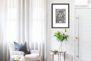 Jayshree Burman   Ink on Paper   13x9 inches   Price 225000/-